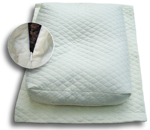 Buckwheat Comfort Pillow Features