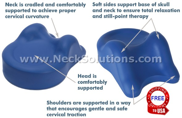 Cervical Traction Neck Pillow Traction Neck Pillow