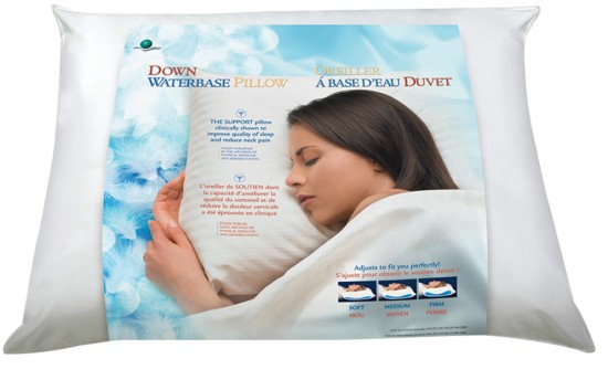 down water pillow