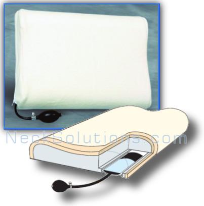 Inflatable Memory Foam Pillow