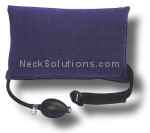 inflatable back support pillow