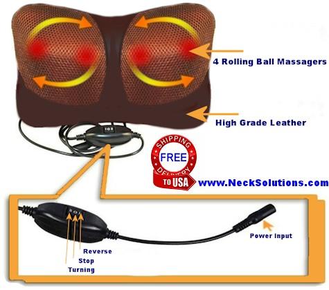 neck massager details