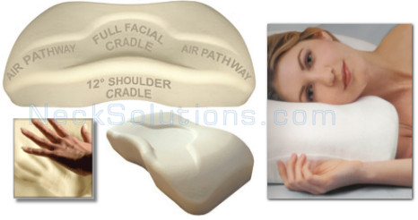Contour Memory Foam Pillow Contour Memory Foam Neck Pillow