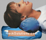 Neck Roll Pillow with Ice Pack
