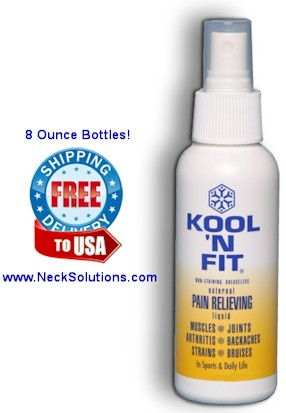 pain relief spray by kool n fit