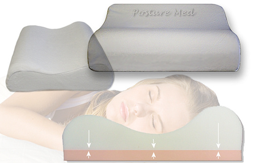 Posture Med Pillow Posture Med Memory Foam Pillow
