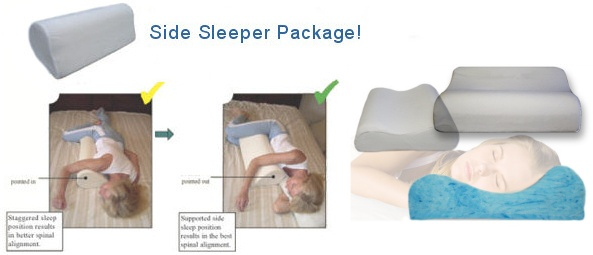 Side Sleeper Pillow Side Sleeping Pillow