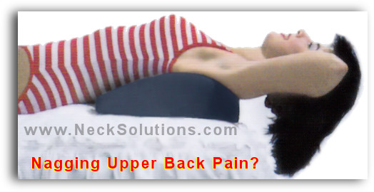 Foam Back Support Pillow Upper Back Relief Pillow