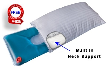 built in neck support