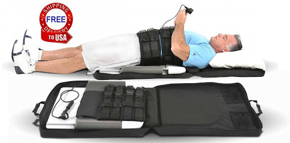 lower back traction machine
