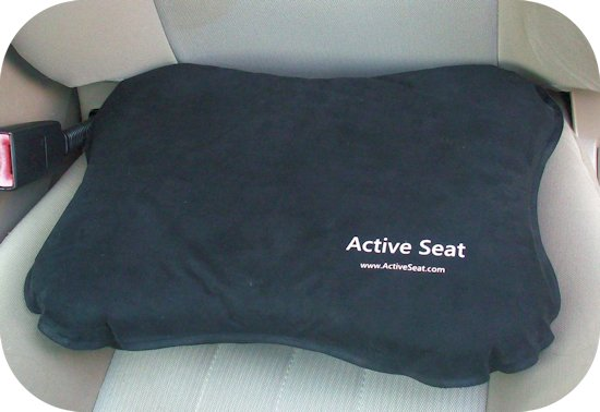 active seat in car