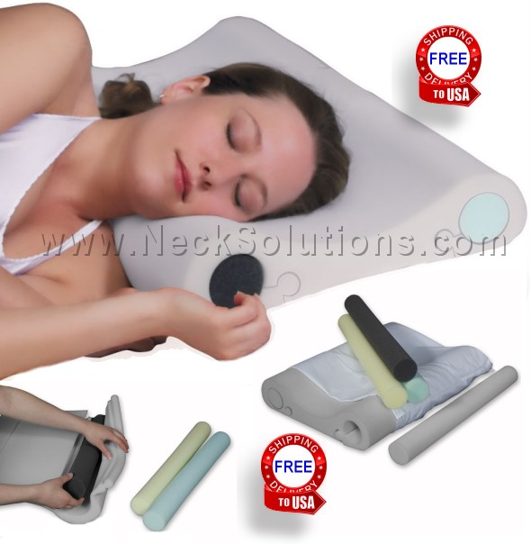 Best neck pillow best pillow for neck pain for Best pillow for neck issues