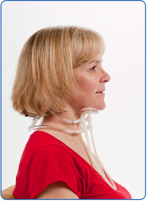 canadian collar - right side profile