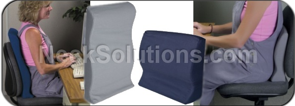 Contour back support pillow lower back support pillow for Body pillow to help back pain