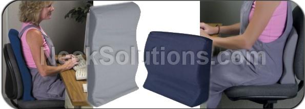 contour back support pillow