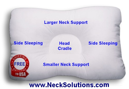 D Core Neck Support Pillow