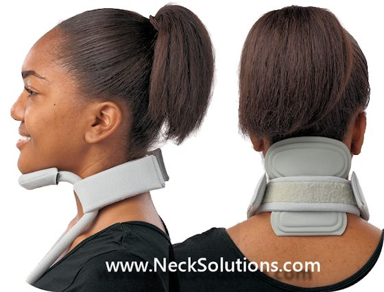 headmaster cervical collar with neck pad