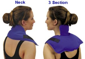 neck wrap ice therapy