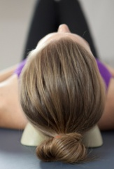 neck release for neck muscles - back view