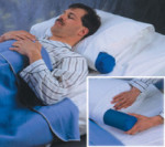 inflatable neck roll pillow