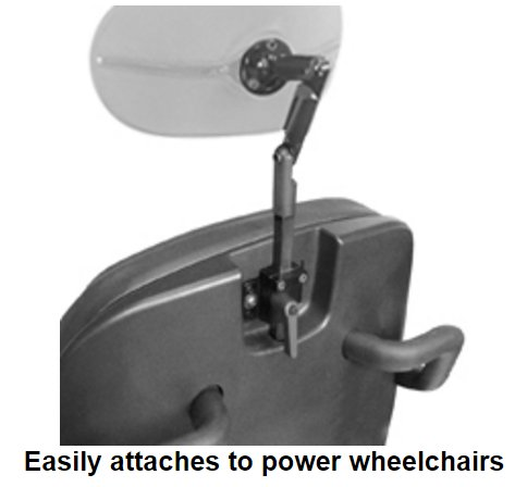 use with power wheelchairs