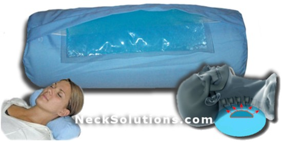 therapeutic neck roll pillow