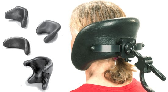 standard wheelchair headrests