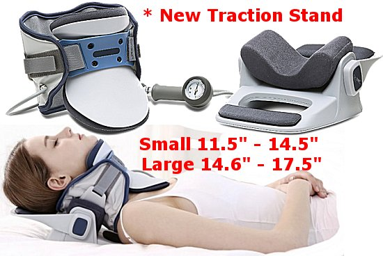 cervical traction collar with stand
