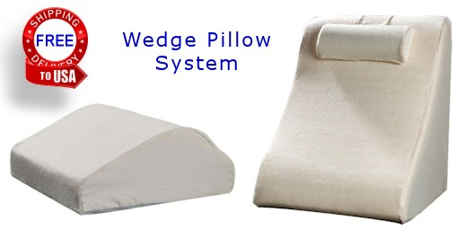 wedge pillow system