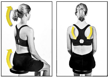 Whiplash Recovery Seated Posture