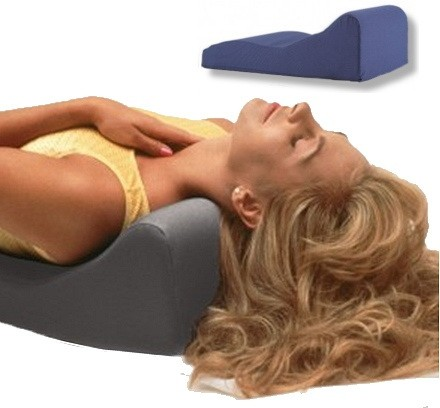 neck traction pillow for military neck
