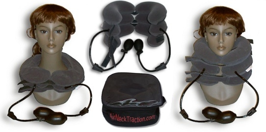 air neck traction inflatable collar