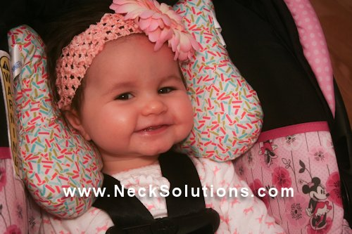 Infant Car Seat Head Support Child Neck Support