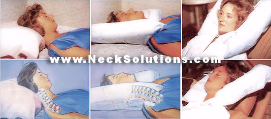 Cervical Support Pillow Back Side Amp Stomach Sleeping