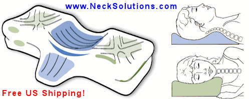 Neck Pain Relief With Cervical Pillows
