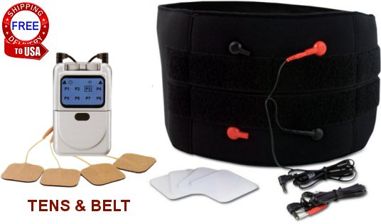 tens therapy with back belt