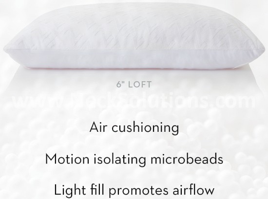 motion isolating microbeads