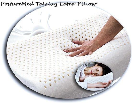 latex talatech cotton talalay pillows foam classic with slb pillow zippered cover