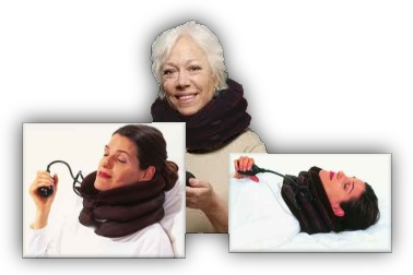 inflatable neck collars