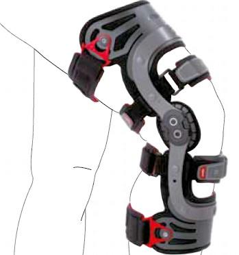 measuring functional knee brace