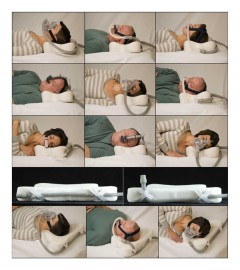 multiple position cpap pillow