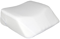 pillow covered - cotton/poly blend