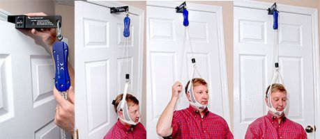 Over Door Traction Traditional Cervical Traction