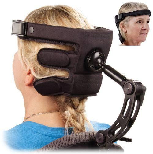 wheelchair head supports