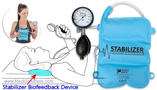 exercise stabilizer biofeedback device