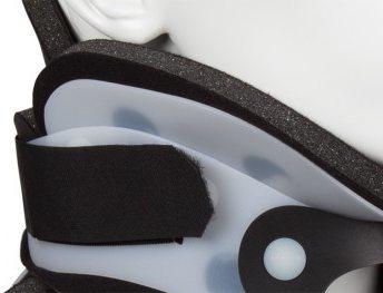 Velcro adjustment