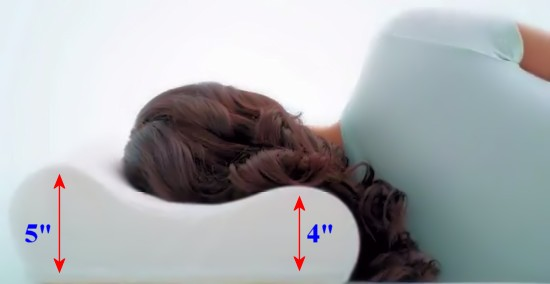 contour memory pillow and side sleeping