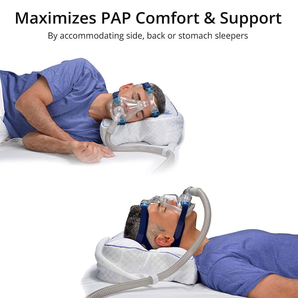 Cpap Pillow Unique Sleep Apnea Pillow Design Improves