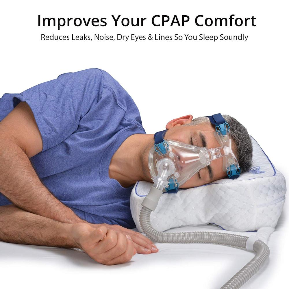 Cpap Pillow Unique Sleep Apnea Pillow Design Improves