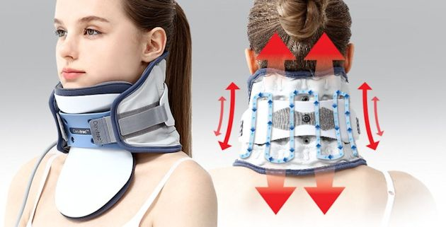 cervical traction system vertical